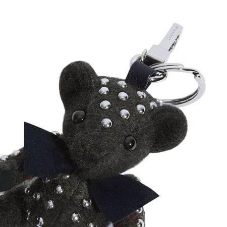 Venice Studded Thomas Bear Charm in Check Cashmere 4046454 40491318 Burberry,Studded Thomas Bear Charm in Check Cashmere , 40491318, 673482,Fashion & Accessories