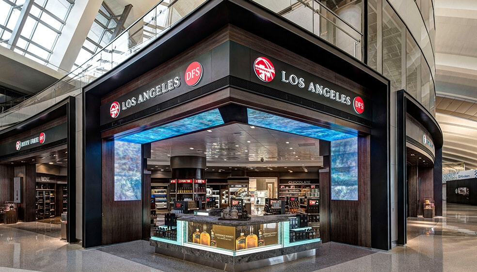 DFS Los Angeles International Airport Los Angeles | DFS | T Galleria