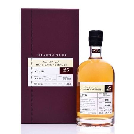 Hong Kong Rare Cask Reserves: Araid 25 Years Old WGS ARAID 25YO 41306481 Rare Cask Reserve - ÀRAID,Rare Cask Reserves: Araid 25 Years Old , 41306481, 697081,Wines & Spirits