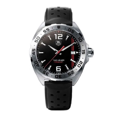 Venice Formula 1 41mm Watch with Rubber Strap WAZ1116.BA0875 40473472 TAG Heuer,Formula 1 41mm Watch with Rubber Strap , 40473472, 672342,Watches & Jewelry